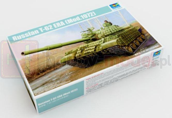 TRUMPETER 01556 Czołg T-62 ERA Mod. 1972