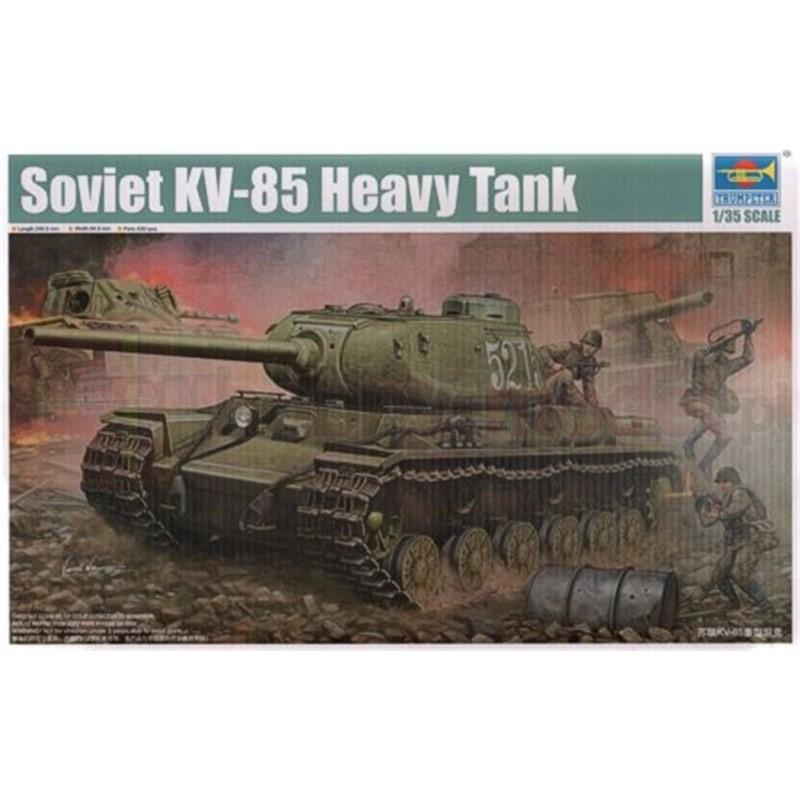 TRUMPETER 01569 Czołg KV-85