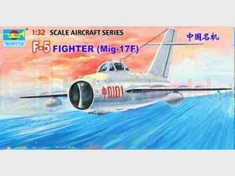 TRUMPETER 02205 Myśliwiec MiG-17F Fresco