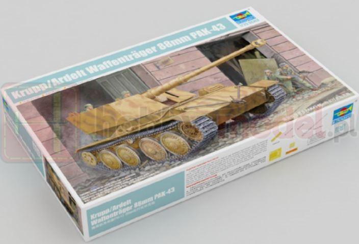 TRUMPETER 01587 Krupp / Ardelt Waffentrager 88 mm PAK 43