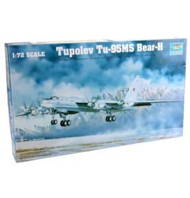 TRUMPETER 01601 Bombowiec dalekiego zasięgu TU-95Ms Bear H