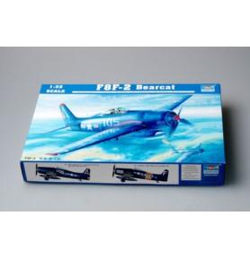 TRUMPETER 02248 Myśliwiec F8F-2 Bearcat