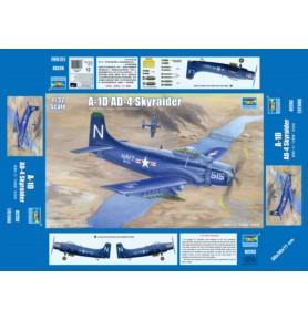 TRUMPETER 02252 Szturmowiec A-1D AD-4 Skyraider