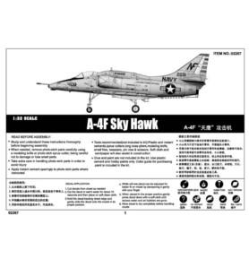 TRUMPETER 02267 Szturmowiec A-4F Skyhawk