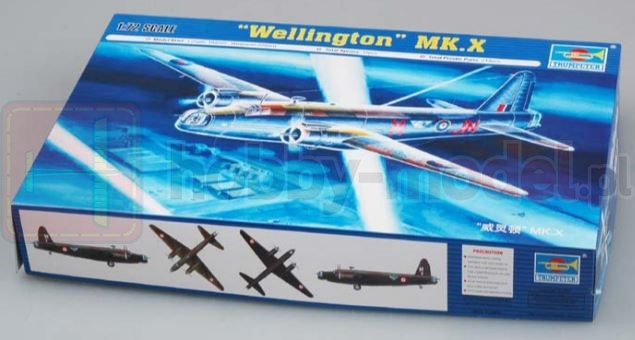 TRUMPETER 01628 Bombowiec Vickers Wellington MK.X