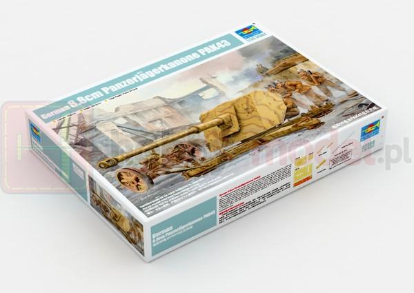 TRUMPETER 02308 Działo 8,8 cm PaK 43
