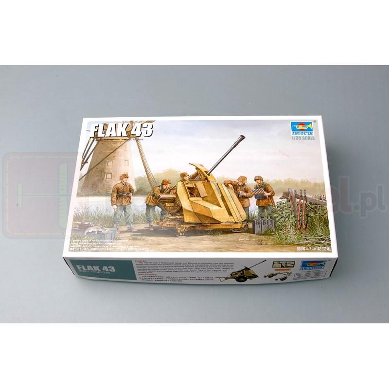 TRUMPETER 02311 Działo FlaK 43 (3,7 cm)