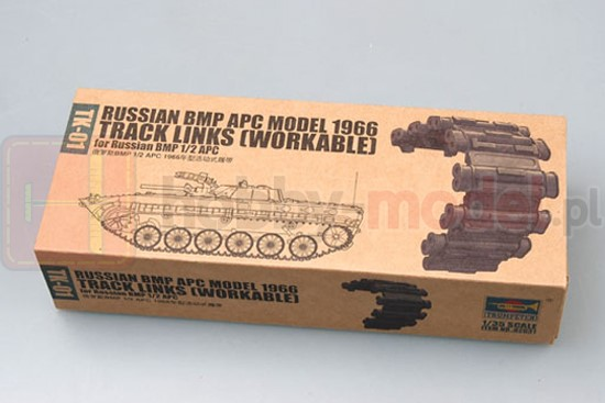 TRUMPETER 02031 Gąsienice BMP 1966 Tracks