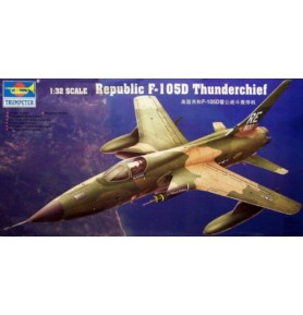 TRUMPETER 02201 Samolot myśliwsko-bombowy F-105D Thunderchief