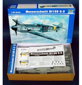 TRUMPETER 02406 Myśliwiec Messerschmitt Bf109 G-2