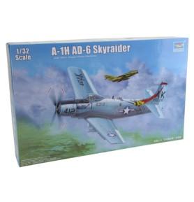 TRUMPETER 02253 Szturmowiec A-1H AD-6 Skyraider