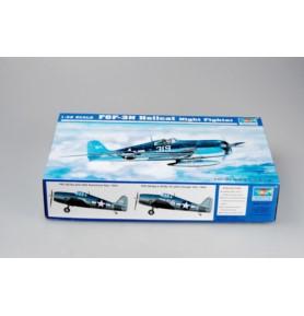 TRUMPETER 02258 Myśliwiec F6F-3N Hellcat