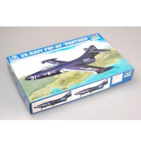 TRUMPETER 02833 Myśliwiec F9F-2P Panther