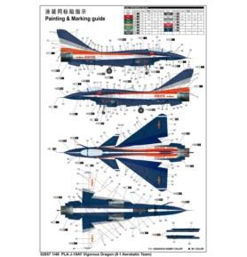 TRUMPETER 02857 Myśliwiec PLAAF J-10AY Vigorous Dragon