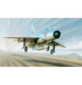 TRUMPETER 02859 Myśliwiec J-7A Fighter