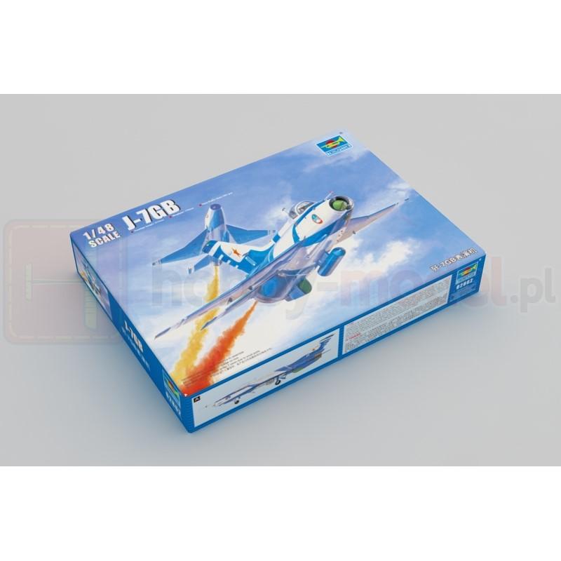 TRUMPETER 02862 Myśliwiec J-7GB Fighter