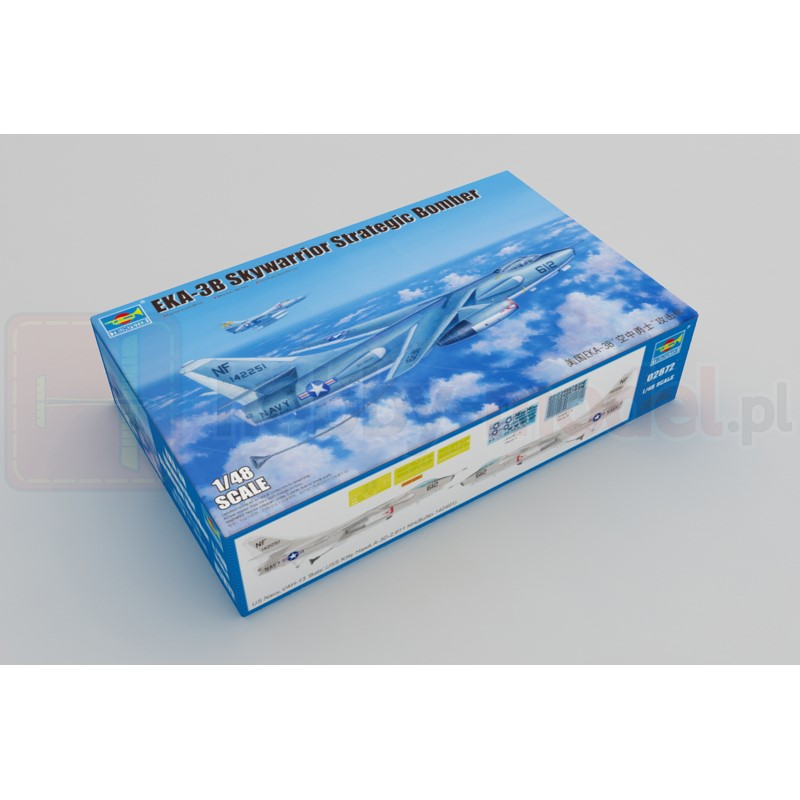 TRUMPETER 02872 Bombowiec EKA-3B Skywarrior