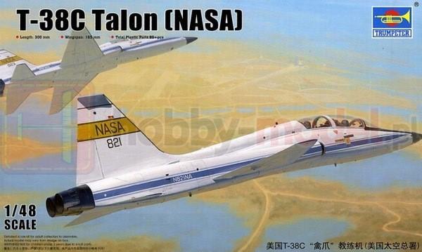 TRUMPETER 02878 Szkolno-treningowy T-38C Talon (NASA)