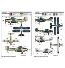 TRUMPETER 02880 Torpedowy/rozpoznawczy Fairey Albacore