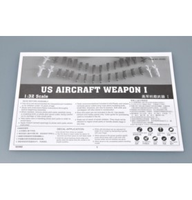 TRUMPETER 03302 Akcesoria US Aircraft Weapons I