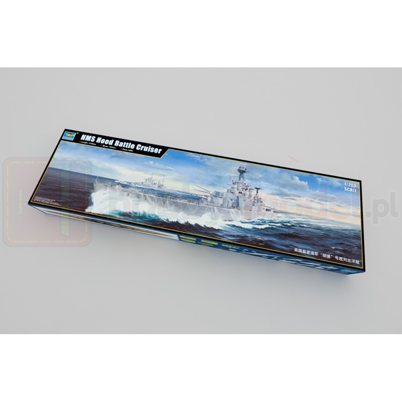 TRUMPETER 03710 Krążownik HMS Hood