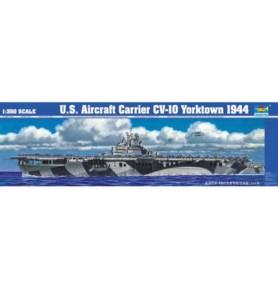 TRUMPETER 05603 Lotniskowiec USS CV-10 Yorktown 1944
