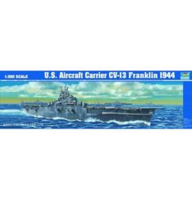 TRUMPETER 05604 Lotniskowiec USS CV-13 Franklin 1944