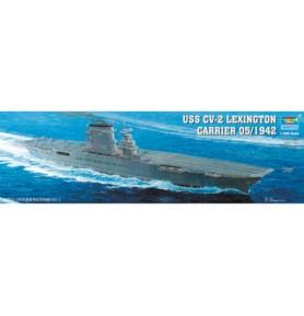TRUMPETER 05608 Lotniskowiec USS CV-2 Lexington