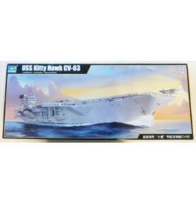 TRUMPETER 05619 Lotniskowiec USS Kitty Hawk CV-63