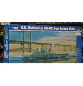 TRUMPETER 05702 Pancernik US BB-62 New Jersey