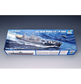 TRUMPETER 05717 Okręt USS Blue Ridge LCC-19 2004