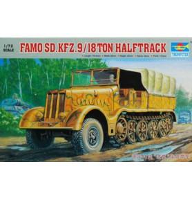 TRUMPETER 07203 Ciągnik Sd.Kfz.9 Famo