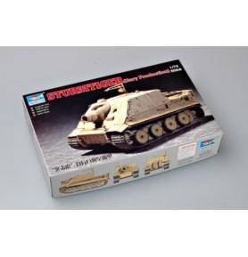 TRUMPETER 07274 Działo Sturmtiger Wczesna produkcja
