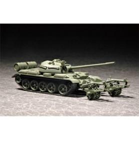 TRUMPETER 07283 Czołg T-55 w/KMT-5