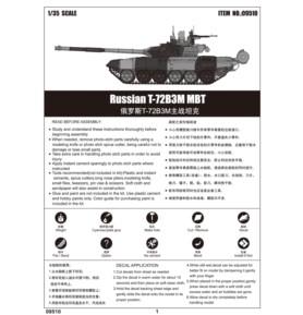 TRUMPETER 09510 Czołg T-72B3M MBT