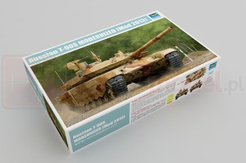 TRUMPETER 09524 Czołg T-90S Zmodernizowany (Mod. 2013)