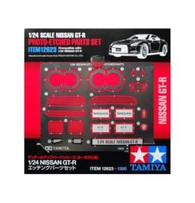 TAMIYA 12623 Akcesoria Nissan GT-R Elementy fototrawione