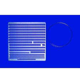 TAMIYA 12642 Akcesoria Relingi fototrawione Zestaw A