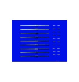TAMIYA 12643 Akcesoria Metalowe lufy i pociski