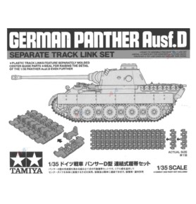 TAMIYA 12665 Akcesoria Panther Ausf.D Zestaw gąsienic