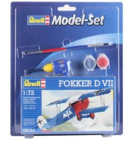 REVELL 64194 Myśliwiec Fokker D. VII (zestaw)