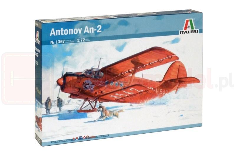 ITALERI 1367 Samolot Antonov An-2