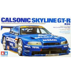 TAMIYA 24219 Samochód Nissan Calsonic Skyline GT-R (R34)