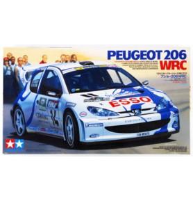 TAMIYA 24221 Samochód Peugeot 206 WRC