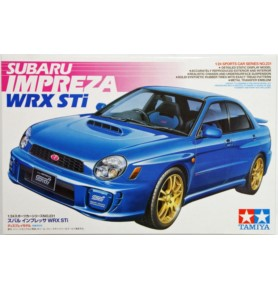 TAMIYA 24231 Samochód Subaru Impreza WRX STi