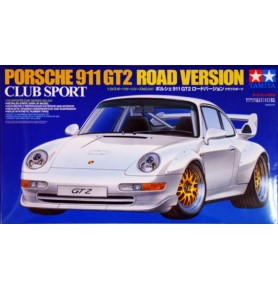 TAMIYA 24247 Samochód Porsche 911 GT2 Road Ver. Club Sport
