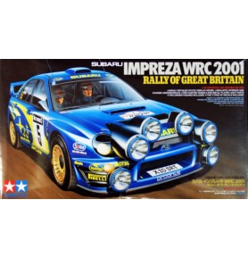 TAMIYA 24250 Samochód Subaru Impreza WRC 2001 Great Britain