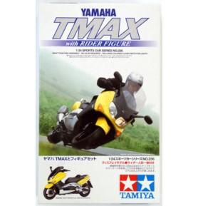 TAMIYA 24256 Skuter Yamaha TMAX z figurką jeźdzca