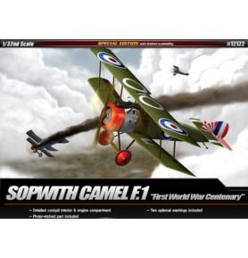 ACADEMY 12122 Brytyjski samolot myśliwski Sopwith Camel WW1