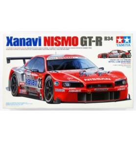 TAMIYA 24268 Samochód Xanavi Nismo GT-R (R34)